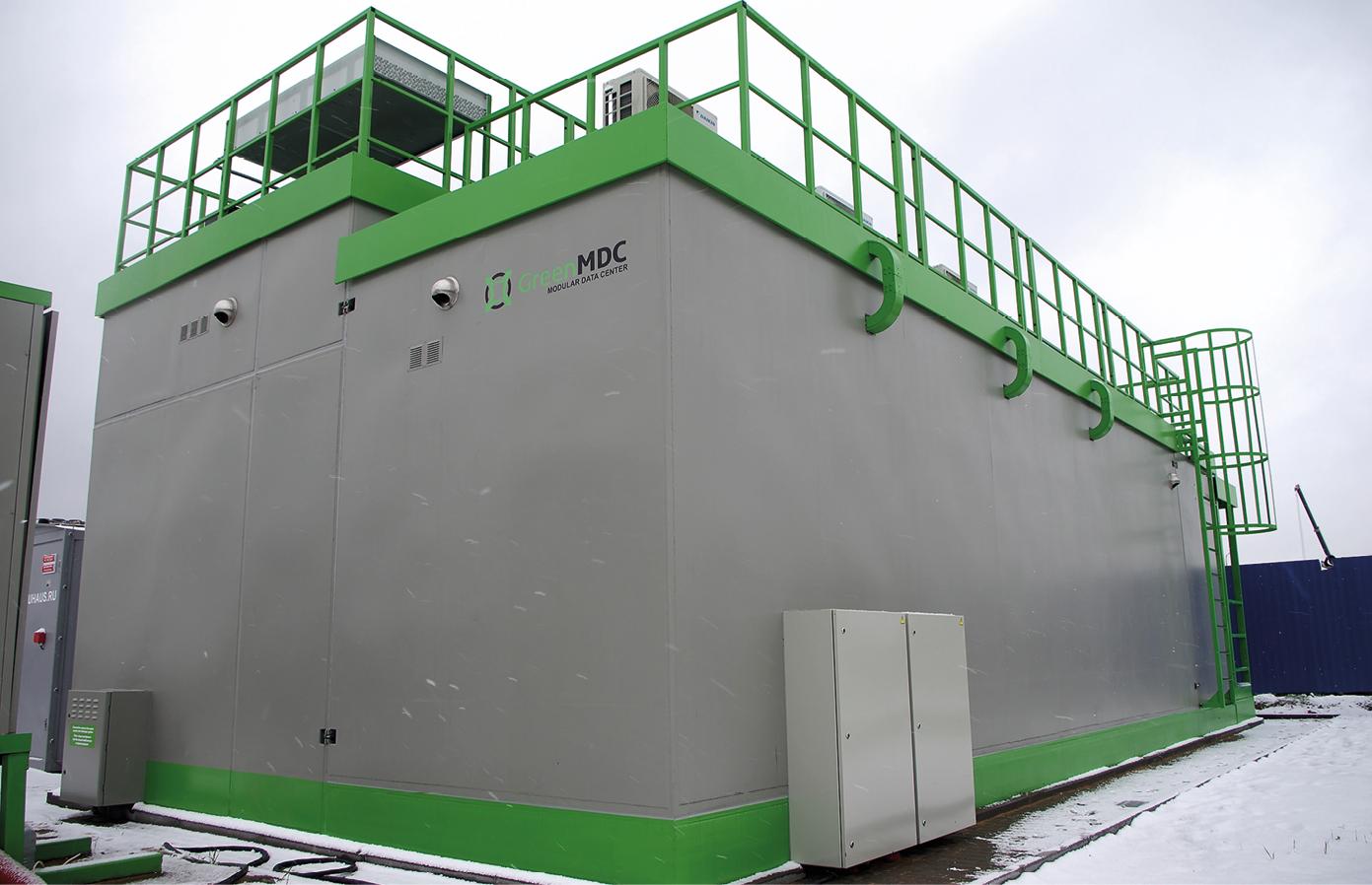 Модульный ЦОД GreenMDC